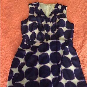 Violet Banana Republic Dress